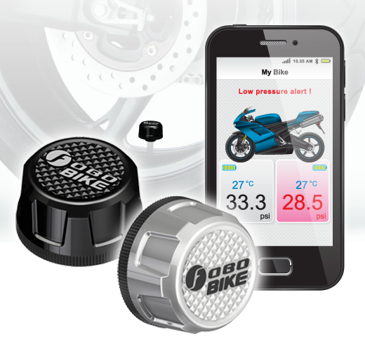 Bluetooth Tire Pressure Monitor