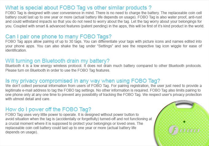 FOBO Tag - FOBO